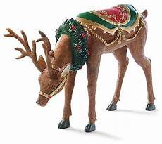 Reindeer Decorations Outdoor by Fiber Optic Reindeer Outdoor