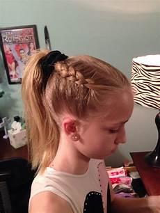 gymnastics hairstyle dutch braid hairstyles pinterest gymnastics hairstyles dutch braids