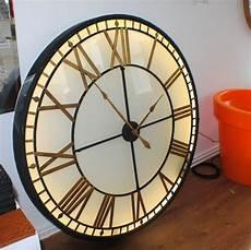 big extra large illuminated light big skeleton vintage clock uk the time machines big wall