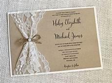 diy vintage wedding invitations cobypic com