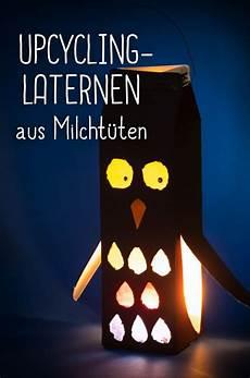 Coole Laterne Basteln - witzig kreativ umweltfreundlich coole upcycling laterne