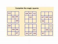 decimal square worksheets 7298 ks3 worksheet l6 decimal magic squares by mrbuckton4maths teaching resources tes