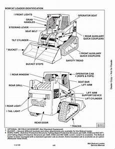 864 bobcat wiring schematic bobcat 864 high flow skid steer loader service repair workshop manual 516911001 a repair