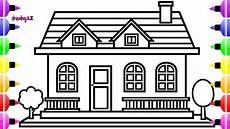 house coloring pages 17594 how to draw house and house coloring pages