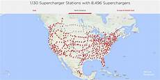 Tesla Supercharger Network 2018 Plans Call For Rapid