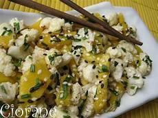 salade de choux fleur cru recettes chou fleur en salade