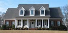 one and a half story 4 bedroom 3 5 bath southern country farmhouse style house plan plan it