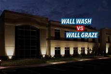 wall washing or wall grazing what s the lighting