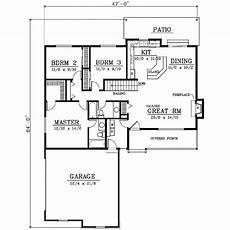 1400 square feet house plans farmhouse style house plan 3 beds 2 baths 1400 sq ft