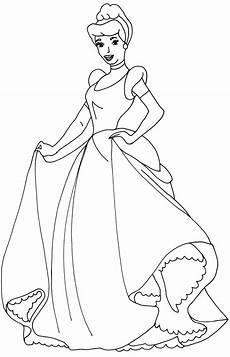 cinderella dress drawing at getdrawings free