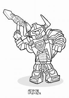 Nexo Knights Ausmalbilder Kostenlos Nexo Knights Axl Ausmalbilder 214 Malvorlage Nexo Knights