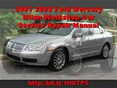 old cars and repair manuals free 2007 mercury montego spare parts catalogs 2007 2008 ford mercury milan workshop car service repair manual youtube