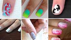 6 super easy nail art designs at home for beginners