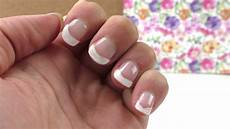 nageldesign frenchnails selber machen diy nails ganz