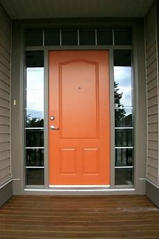 gallery in 2020 orange front doors painted front doors exterior house colors