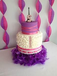 Fancy Nancy Cake Cakecentral