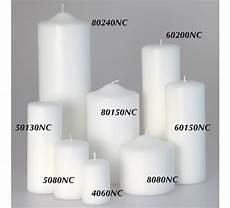 vendita candele candele candelotto moccolo bianco d 50 h 130 outlet