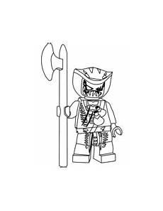 Malvorlagen Ninjago Skelett Lego Ninjago Skelett Ausmalbilder