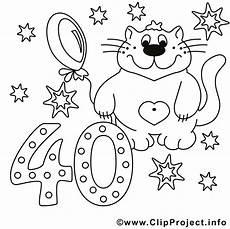 Malvorlage Geburtstag Zum Ausdrucken Katze Malvorlage Geburtstags Malvorlagen