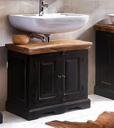 waschbeckenunterschrank schwarz sit waschbeckenunterschrank 187 corsica 171 breite 66 cm otto