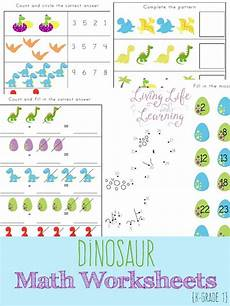 free dinosaur math worksheets kindergarten math worksheets math worksheets kindergarten math