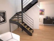 escalier d intérieur design mod 232 le d escalier design 224 lyon escalier demi tournant