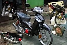 Modifikasi Supra 125 Airbrush by Modifikasi Motor Supra X 125 Airbrush Thecitycyclist