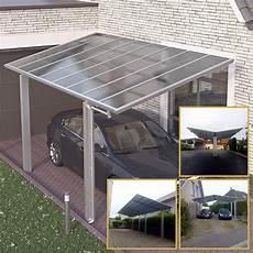 Carport Aluminium Bausatz - doppelcarport satteldach aluminium carport bausatz
