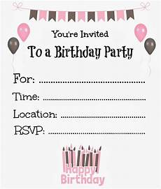 free printable birthday invitation cards templates free printable birthday invitations for birthday
