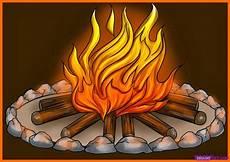 30 Gambar Api Unggun Karikatur Karitur