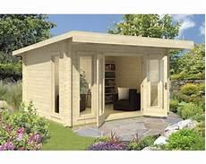 gartenhaus barbados 3 mit fussboden 399x399 cm natur
