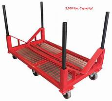 stackable utility carts for pipe transport fabrication