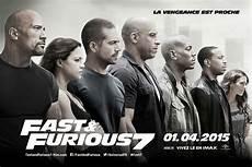 affiche fast and furious affiche du fast furious 7 affiche 2 sur 7 allocin 233