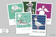 nordische weihnachtskarten dieartige design studio