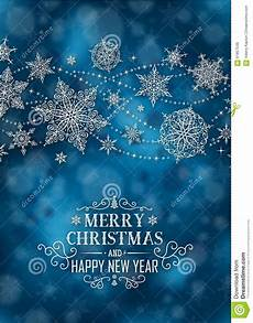 christmas vertical poster illustration christmas dark blue short text portrait stock