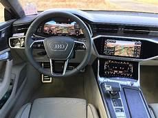 2019 audi a7 interior 2019 audi a7 test drive auto reviews