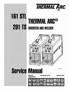 thermal arc 161 stl 201 ts inverter welder sm service manual download schematics eeprom