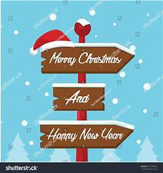 merry christmas sign illustration design stock vector 514998991