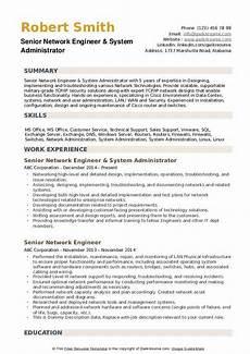 senior network engineer resume sles qwikresume