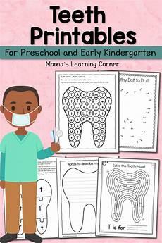 free teeth printables for preschool and kindergarten free homeschool deals