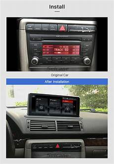 how cars run 2004 audi a4 navigation system 10 25 inch android 9 0 2004 2008 audi a4 car radio stereo head unit gps navigation system