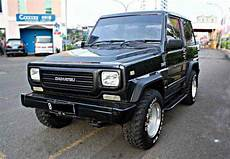 1994 daihatsu taft gt black 4x4 full orisinil mobil bekas rental mobil