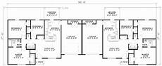 house plans for duplexes three bedroom three bedroom duplex 59624nd architectural designs