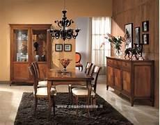 pittura sala da pranzo sala da pranzo classica finitura ciliegio modello tarondo