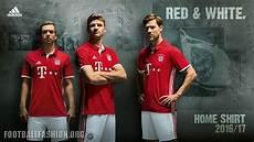 Fc Bayern M 252 Nchen 2016 17 Adidas Home Kit Football