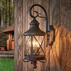 aussenbeleuchtung mit bewegungsmelder rustic outdoor wall light romantica lights co uk