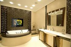 bathroom tv ideas should you a tv in your bathroom stonewood