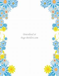 Flower Border Clipart free flower border template personal commercial use