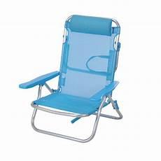 fauteuil de plage wenga bleu transat et hamac eminza