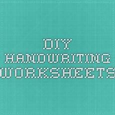 diy handwriting worksheets handwriting practice worksheets handwriting worksheets worksheet